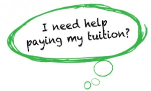 Tuition Help Word Bubble